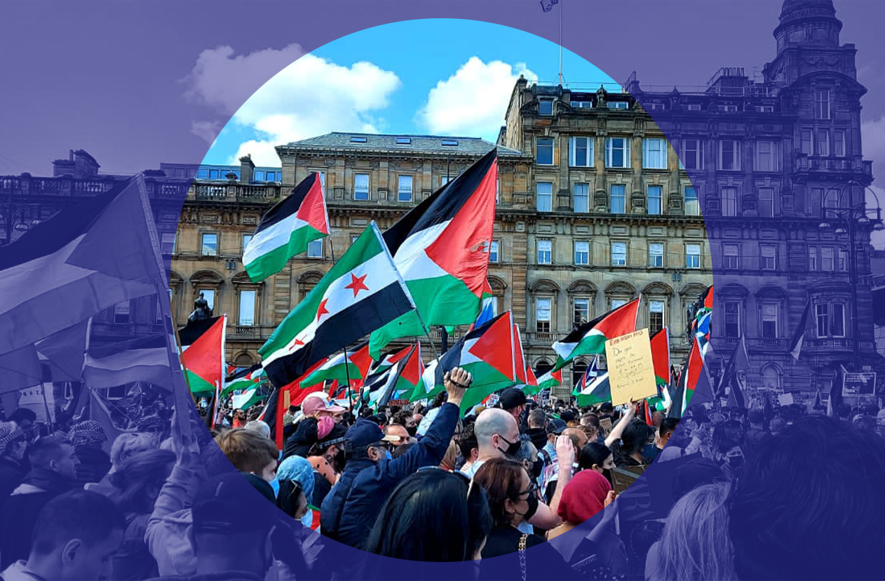 Photo essay: Glasgow stands with Palestine